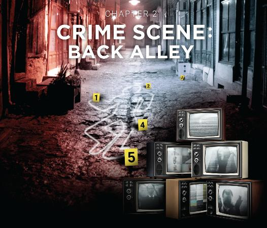 Crime scene: Back alley